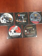 PS2 5 Game Lot - Disc Only GTA III LEGO Star Wars SOCOM PlayStation 2