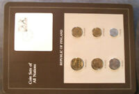 Coin Sets of All Nations Finland w/card all 1982 UNC Fishers