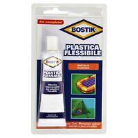 COLLA PLASTICA FLESSIBILE BOSTIK 50 gr. RESISTENTE ACQUA PISCINE GONFIABILI