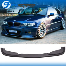 Fit 99-06 BMW E46 3 Series 4DR H Style Front Bumper Lip For PP M Bumpers Only