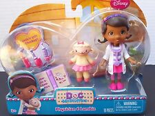 New Disney DOC McStuffins Physician Lambie Checkup doll Stethoscope Thermometer+