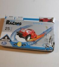RACETRACK SET With Truck And Several Feet Of Track RACE CAR Set - BRAND NEW
