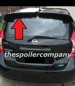 """UN-PAINTED FACTORY LOOK REAR HATCH SPOILER FOR 2014-2017 NISSAN VERSA """"NOTE"""""""