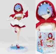 Anime Furyu Re: Zero Starting Life in Another World Red hood Rem Figure No Box