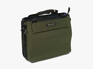Boblbee W13 Hardshell Canvas Laptop Bag, Green