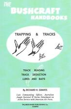 The Bushcraft Handbooks - Trapping & Tracks by Richard H. Graves (English) Paper