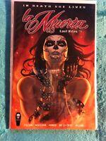 La Muerta Last Rites #1 Kickstarter Edition 💥HTF/Rare. Sadly it's Unsigned.