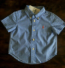 Ralph Lauren Checked T-Shirts & Tops (0-24 Months) for Boys