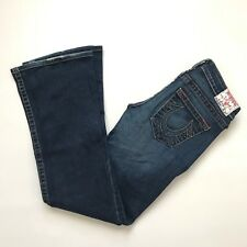True Religion Women's Boot Cut Jeans Made In USA 29x31 Very Good! H9