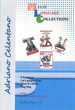 Adriano Celentano 4 movies DVD Collection 1. Italian, Romanian Subtitles.