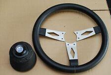 Lancia Fulvia Flavia Rallye Coupe OBA steering wheel 33cm and Hub, boss
