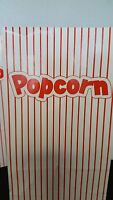 12 - Popcorn Bags - Party Theater Movie Night Carnival Circus Big Top Paper Sack