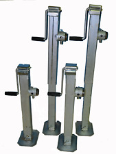 Canopy Lifting Jacks Set of 4 wind and drop Galvanised finish.