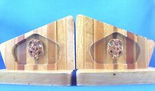 RARE Vintage SOVEREIGN No.29A TIKI NEW ZEALAND BOOKENDS Man Cave Library In Aust