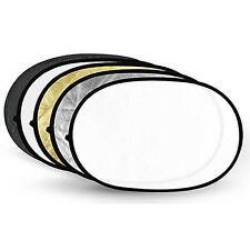"""RF69 Collapsible Multi Disc 5 in 1 Light Reflector 60cmx90cm / 24""""x36"""""""