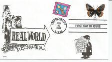 GRADUATION   REAL WORLD    FDC - DWc  CACHET