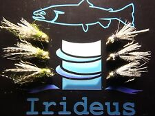 Irideus Trout Flies NOR CAL Custom Birds  Steelhead Nymph Fly Fishing Flies Fish