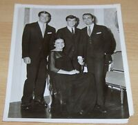George Hamilton & His Family Original Press News Photo Production Still Vintage