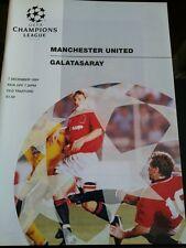 1994 Champions League : MANCHESTER UTD v GALATASARAY