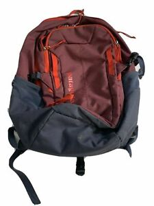 Patagonia Hiking Backpack  Red Gray Well Loved Multiple Compartments Refugio ?