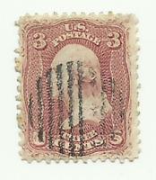 Scott #65 1861 Used Canceled 3c Washington