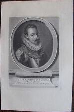 ALEXANDRE FARNESE DUC DE PARME (1545-1592) CHEF MILITAIRE, PORTRAIT
