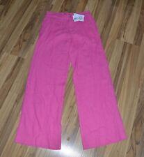 NWT ~ Ralph Lauren 100% Linen Pink Pants Wide Leg Sz 2