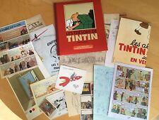 Tintin & Milou : Pochette de 22 fac-similés rares extraits des archives de Hergé