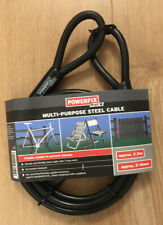 Powerfix Profi Multi-Purpose Steel Cable 2. 5 M in Length, Width 10 MM.NEW