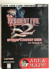Resident Evil 2 Official Strategy Guide N64