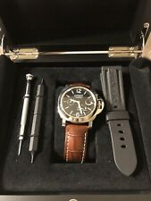 Panerai Luminor 44 Power Reserve PAM00090 Box & Papers Extra Straps Authentic