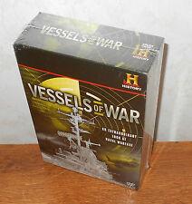 Vessels of War (DVD, 2009, 8-Disc Set) BRAND NEW, SEALED!