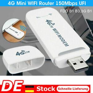 USB Entsperrte 4G LTE WIFI Wireless Dongle Stick Mobile Breitbandmodem SIM-Karte