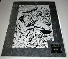 Jack Kirby Thor Matted Art Transparency Super Rare Only 500 Made #170 OF #500