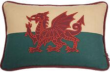 30.5cmx45.7cm Gallese Red Dragon Bandiera Del Galles Cymru Arazzo Divano Cuscino
