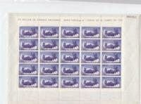 Spain 1960 Bullfighting  4 mint never hinged full stamps sheets R19989