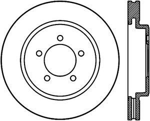 Disc Brake Rotor-Sport Drilled Disc Front Left Stoptech 128.65118L