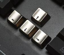 Metal-Zinc Key Cap Arrow Set For Cherry MX Mechanical Keyboard illuminated