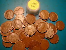 1928-S LINCOLN WHEAT CENT ROLL