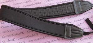 CAMERA STRAP NECK SHOULDER COMFY ANTI-SLIP STRAP NIKON CANON CAMERAS BINOCULARS