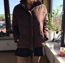 Jacke Daunenjacke Winterjacke von ESPRIT - Gr. 44 - braun schokobraun - WIE NEU