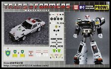 DETAILS STICKER SET FOR MP17 Prowl Police NEW Not Including Transformers Figure