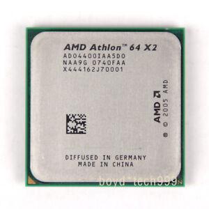 AMD Athlon 64 X2 4400+ Dual-Core CPU Processor ADO4400IAA5DU 2.3 GHz 1000MHz AM2