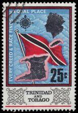 "TRINIDAD & TOBAGO 153 (SG348) - National Flag ""1969 Printing"" (pa93924)"