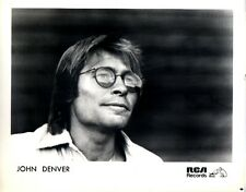 John Denver 1980 'AUTOGRAPH' Original RCA Glossy Promotional Press Photo Nipper