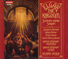 ELGAR: The Kingdom / Sospiri / Sursum Corda. Richard Hickox 2 CDs, wie neu