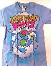 DANCE GAVIN DANCE Cloud Robot SHIRT S HC emo Static Lullaby saosin chiodos