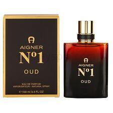 Aigner No 1 Oud For Men 3.4 oz Eau de Parfum Spray New In Box Sealed