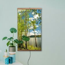 """Infrared Wall Eco Heater Picture 3000 BTU Portable Heating Panel Image 24""""x41"""""""