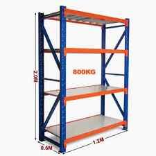 1.2M New Heavy Duty Warehouse Garage Metal Steel Storage Shelving Racking Rack